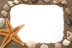 plażowa granica Fotografia Royalty Free