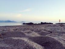 Plażowa Grecja pustynia fotografia royalty free