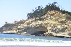 Plażowa jama w Oregon Zdjęcie Royalty Free