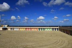 Plażowa kabina Obraz Stock