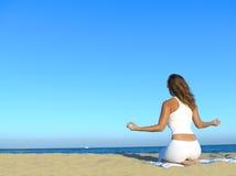 plażowa kobieta Zdjęcie Stock