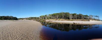 Plażowa laguna Fotografia Royalty Free