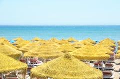 Plażowa linia horyzontu Zdjęcia Royalty Free
