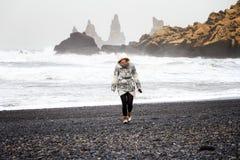 plażowa murzynka Obraz Royalty Free