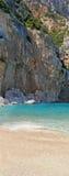 plażowa panorama Zdjęcie Royalty Free