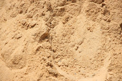 Plażowa piasek adra Zdjęcia Royalty Free