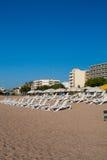 plażowa pogodna pogoda Zdjęcia Royalty Free
