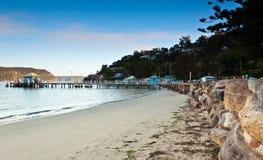 plażowa promu jetty palma Obraz Royalty Free