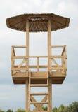 plażowa ratownika s wierza woda Obrazy Stock