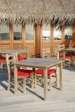 plażowa restauracja Fotografia Stock