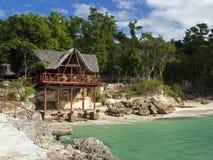 plażowa restauracja Zdjęcia Royalty Free