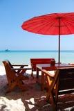 plażowa restauracja Obrazy Stock