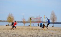 plażowa siatkówka Fotografia Stock
