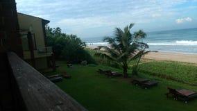 Plażowa strona w Galle Srilanka Obrazy Stock