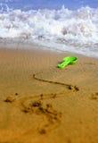 plażowa sztuka Fotografia Stock
