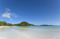 plażowa tropikalna wyspa Obrazy Royalty Free
