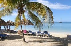 Plażowa wakacyjna sceneria Fotografia Stock