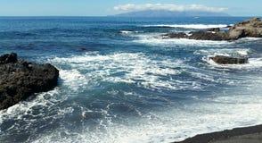 Plażowa wyspa kanaryjska Zdjęcie Royalty Free