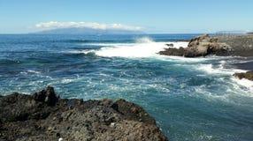 Plażowa wyspa kanaryjska Obrazy Royalty Free