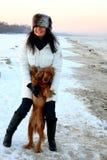 plażowa zima Zdjęcie Royalty Free