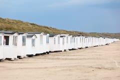 plażowe budy Obrazy Royalty Free