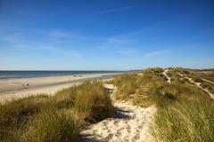 plażowe diuny Normandy Zdjęcia Royalty Free