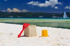 plażowe dzieciaków piaska zabawki Fotografia Royalty Free
