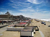 plażowe holandie Scheveningen Zdjęcie Royalty Free