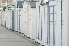 plażowe kabiny Zdjęcie Stock