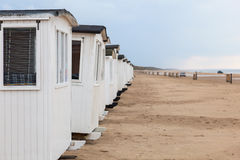 Plażowe kabiny Obraz Stock