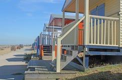 Plażowe nadmorski Budy Zdjęcia Stock