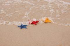 plażowe skorupy Zdjęcia Royalty Free