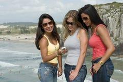 plażowe target267_0_ kobiety Zdjęcie Stock
