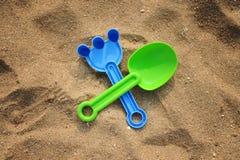 plażowe zabawki Zdjęcia Stock