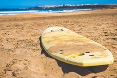 plażowego Del Este garzon Laguna punta pojedyncza kipieli czas Uruguay fala Zdjęcie Stock