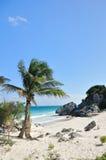plażowego idyllicznego piaska denny biel Obraz Royalty Free