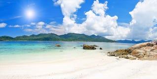 plażowego piaska denny biel Zdjęcie Royalty Free