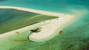 pla?owej wyspy piaskowaty tropikalny Camiguin, Filipiny obrazy royalty free