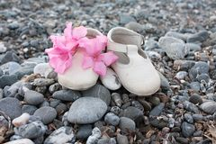 plażowi buty obrazy stock