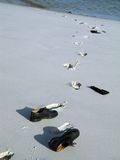plażowi buty Obraz Stock