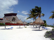 plażowi cabanas Fotografia Stock