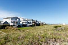 Plażowi domy Obraz Royalty Free