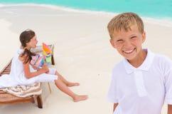 plażowi dzieciaki Zdjęcie Royalty Free