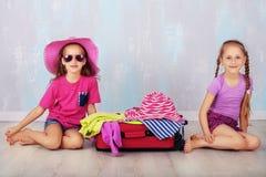 plażowi Formentera wyspy kobiety potomstwa Zdjęcia Royalty Free
