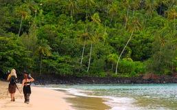 plażowi fotografowie Zdjęcia Stock
