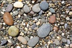 plażowi kamienie Zdjęcia Stock