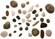 plażowi kamienie Zdjęcie Royalty Free