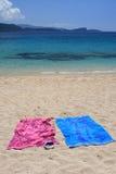 plażowi lichnos Fotografia Stock