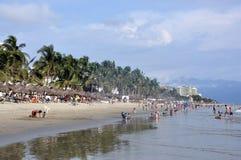 plażowi ludzie Zdjęcia Royalty Free