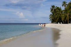 plażowi Maldives Fotografia Stock